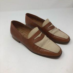 """Ann Taylor """"Studio"""" Vintage slip on loafer 6.5 M"""